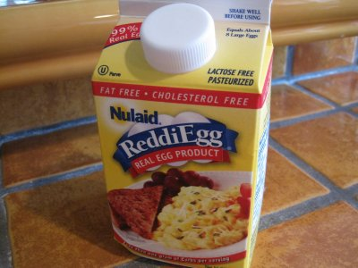 ReddiEgg, Real Egg Product