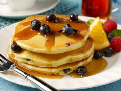 Pancakes, Blueberry
