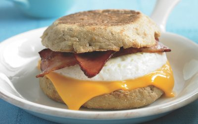 Breakfast Sandwiches, Bacon, Egg & Cheese