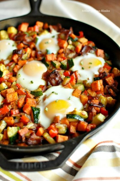 Breakfast Skillets, Bacon