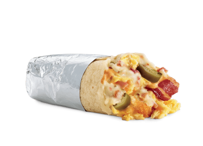 Breakfast Supreme, Jalapeno Egg & Cheese Burritos