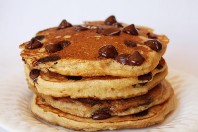 Chocolate Chip, Pancakes