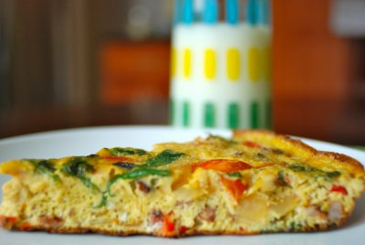 Frittatas Bacon And Spinach