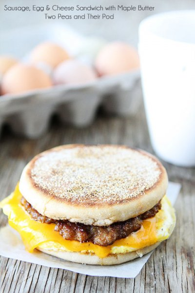 Sausage, Egg & Cheese Breakfast Sandwich