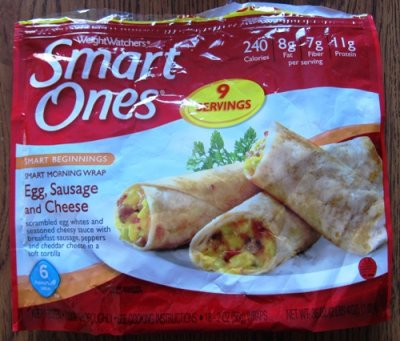 Smart Ones Smart Morning Wrap Egg, Sausage and Cheese