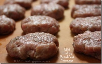 Turkey Sausage, Breakfast Mild