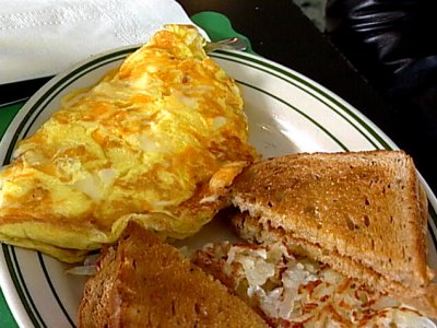 Omelets, Three Cheese