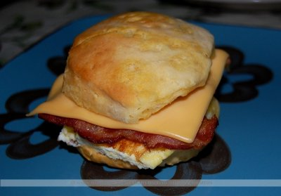 Sandwiches, Biscuit, Bacon, Egg & Cheese