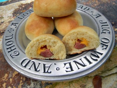 Sandwiches,Kolaches Smoked Sausage W/Cheese Baked In Dough 8 Ct