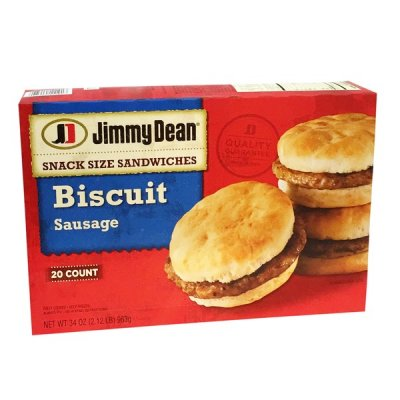 Sausage Biscuits, Family Pack