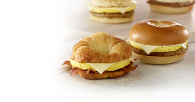 Sizzli Bacon,Egg & Cheese Bagel