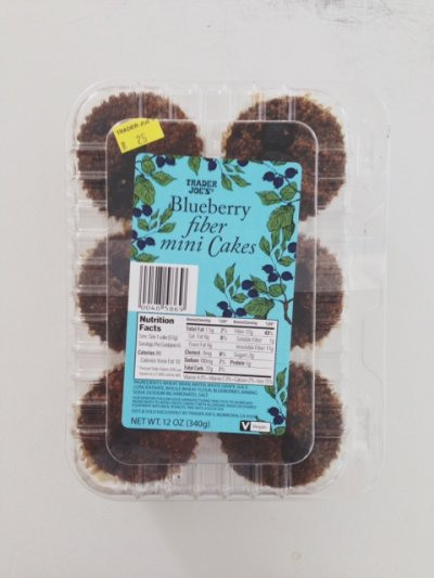 Blueberry Fiber Mini Cakes