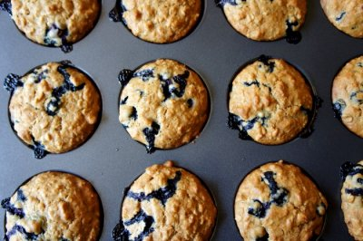 Blueberry Oat Muffin Tops