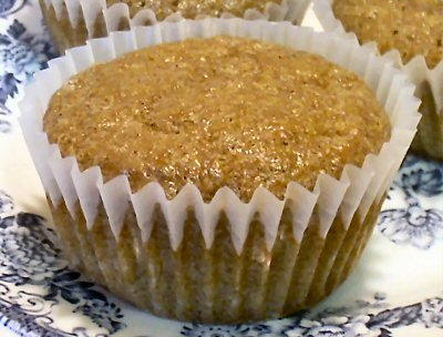 Flax Muffins, Apple Cinnamon