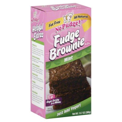Mint Fudge Brownie, Naturally Flavored