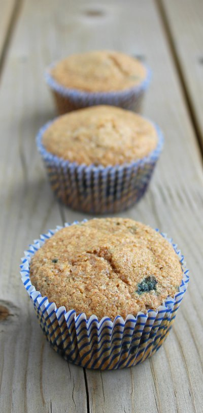 Wheat Bran Muffins - Blueberry