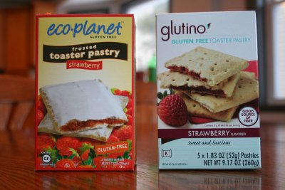 Gluten Free Toaster Pastry, Frosted Strawberry Flavored