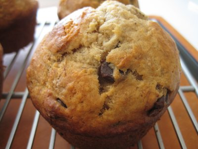 Muffins, Banana Chocolate Chip