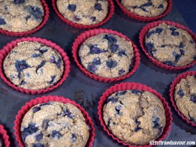 Muffins, No Sugar Added, Blueberry Burst
