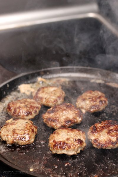 Traditional Breakfast Sausage Patties