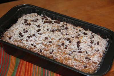 Chocolate Chip Crumb Loaf Cake