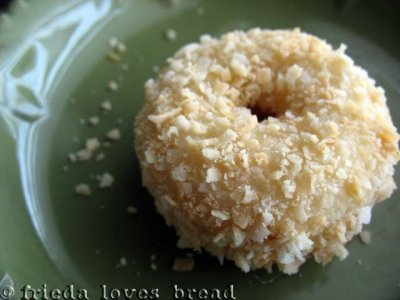 Coconut Crunch Mini Donuts