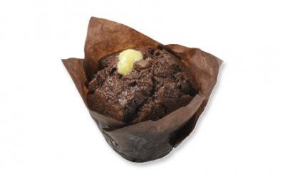 Muffins, Filled, Triple Chocolate