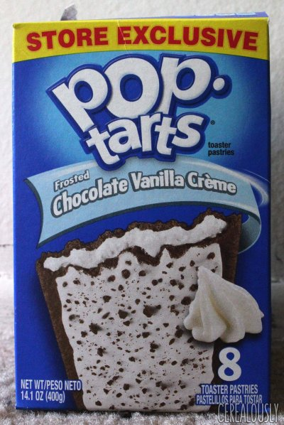 Pop Tarts, Frosted Chocolate Vanilla Creme