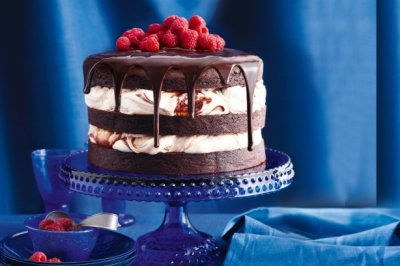 Triple Chocolate Creme Cake
