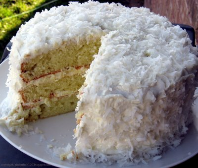 3-Layer Cake, Coconut