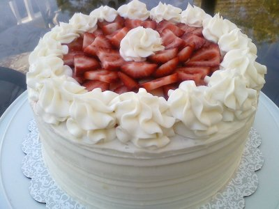 Cheesecake, Original Cream, Strawberry