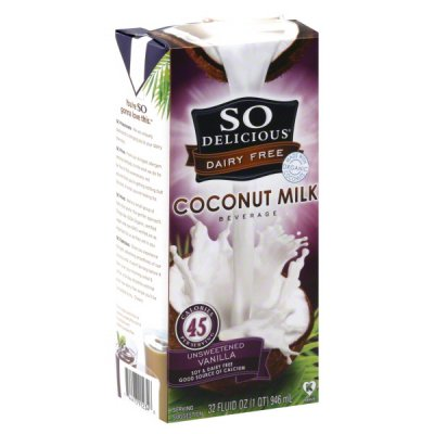Coconut Milk, Unsweetened Vanilla, 45