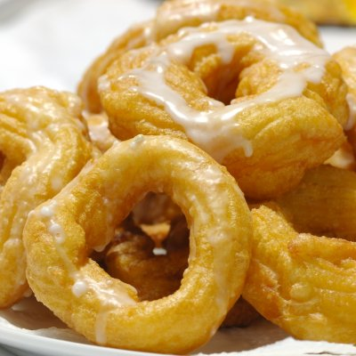Mini Crullers, Glazed