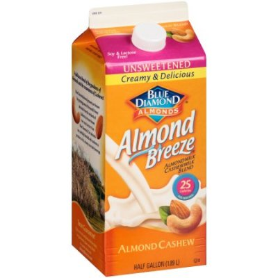 Almond Breeze, Almondmilk Cashewmilk Blend, Almond Cashew