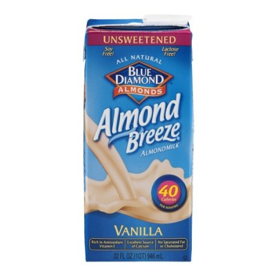 Almond Breeze, Vanilla Almondmilk, Unsweetened