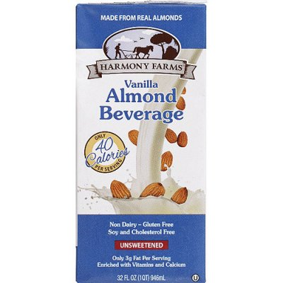 Almond Smooth - Unsweetened Vanilla