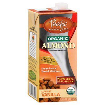 Non-Dairy Beverage, Low Fat Vanilla, Unsweetened
