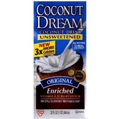 Coconut Drink, Unsweetened, Original, Enriched