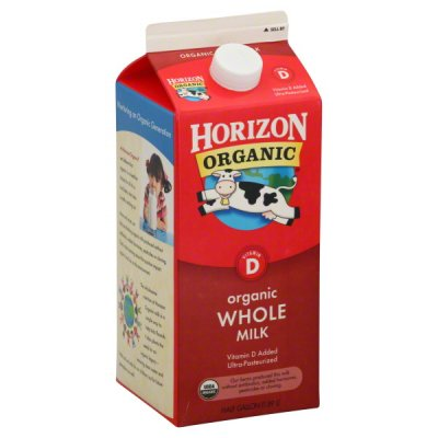 Milk, Organic, Fat Free, with Vitamins A & D