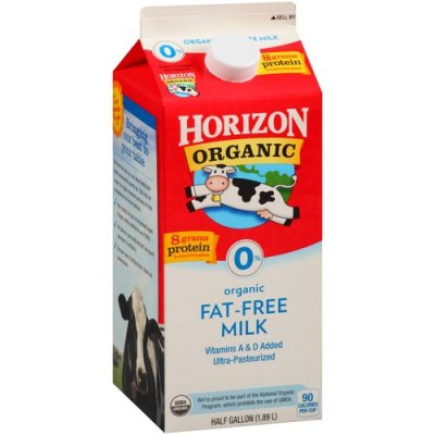 Organic Fat Free Milk - Vitamin A & D