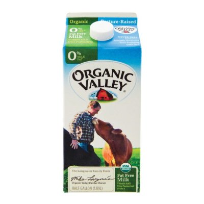 Organic Skim Fat Free Milk