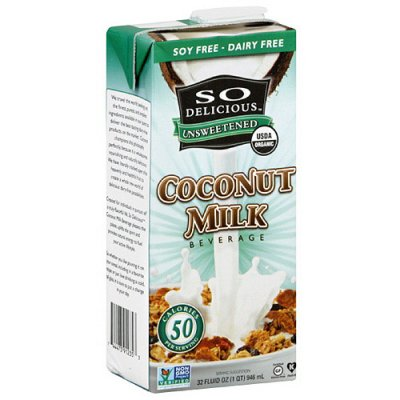 Coconut Milk, Unsweetened, 50