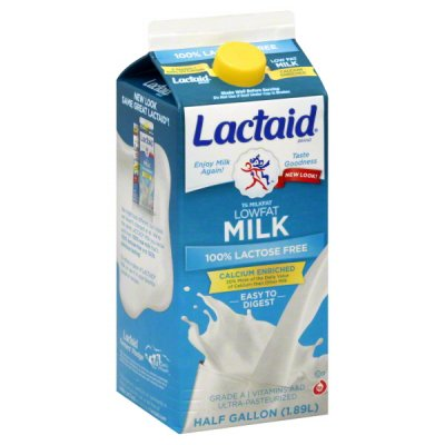 Fat Free Milk, 100% Lactose Free, Vitamins A & D, Ultra-Pasteurized