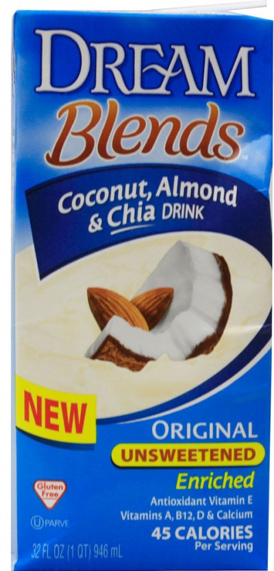 Blends, Original Coconut, Almond & Chia Drink