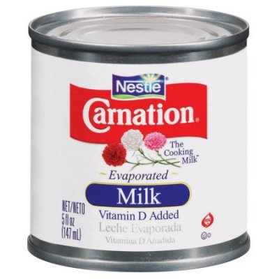 Evaporated Milk, Vitamin D Added