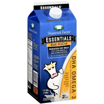 DHA Omega 3 Fat Free Milk