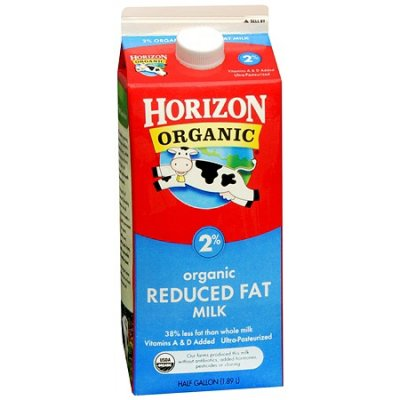 Low Fat Milk - Organic