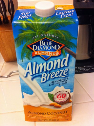 Almond Breeze,  Almond Milk and Coconut Milk Blend