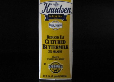 Reduced Fat Cultured Buttermilk, 2%