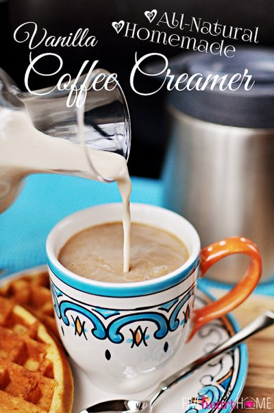 Coffee Creamer - All Natural Vanilla Flavor